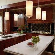 Biedermeier-style traditional kitchen - Biedermeier-style traditional kitchen - cabinetry, countertop, interior design, kitchen, red, gray