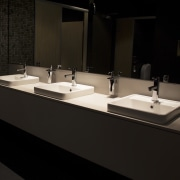 Bar restoration with Caroma and Fowler fittings - bathroom, countertop, interior design, plumbing fixture, product design, sink, tap, black