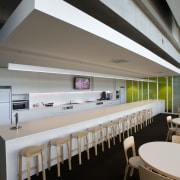 ASB North Wharf joinery by Sage Manufacturing - architecture, ceiling, furniture, interior design, table, gray, black