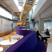 ASB North Wharf joinery by Sage Manufacturing - daylighting, interior design, gray