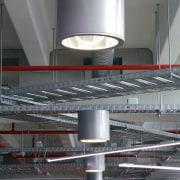 lighting by Aesthetics LIghting was custom designed for architecture, ceiling, daylighting, gray, black