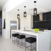 GJ Gardner Homes show home Havelock North.  countertop, cuisine classique, interior design, interior designer, kitchen, real estate, room, white