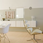 Modern apartment remodel - Modern apartment remodel - chair, floor, flooring, furniture, home, interior design, product, product design, room, table, wall, white