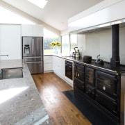 Contemporary new kitchen by Kitchen Link - Contemporary countertop, cuisine classique, interior design, kitchen, real estate, white