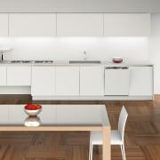 Italian appliance collection by Fulgor Milano - Italian cabinetry, countertop, cuisine classique, floor, interior design, kitchen, product design, room, white