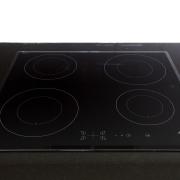 Contemporary kitchen with Smeg appliances - Contemporary kitchen cooktop, gas stove, home appliance, kitchen appliance, product, product design, black
