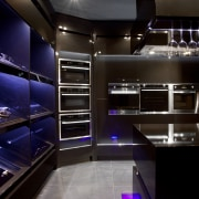 Eisno Lifetech Appliances is an international company focused countertop, interior design, kitchen, room, black