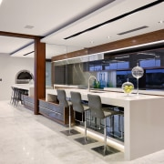 Dining and Kitchen area - Dining and Kitchen interior design, kitchen, white