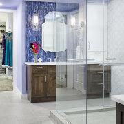 A sense of balance and a subtle nod bathroom, interior design, room, gray