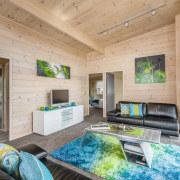 Wooden Living area - Wooden Living area - estate, home, house, interior design, living room, real estate, gray