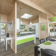 Wooden Kitchen and Dining - Wooden Kitchen and architecture, countertop, house, interior design, kitchen, real estate, gray, brown