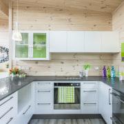 Skagen home kitchen - Skagen home kitchen - countertop, house, interior design, kitchen, real estate, white