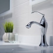 Pared-back design is a key trend for modern bathroom, bathroom sink, plumbing fixture, product design, sink, tap, gray