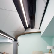 Above and beyond  the new Genesis Energy architecture, ceiling, daylighting, house, interior design, product design, gray, white