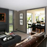 Jalcon Homes also has an interior design consultancy interior design, living room, room, black, white, gray