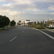 Urban design and planning for town centre - area, asphalt, car, city, downtown, highway, house, infrastructure, lane, metropolitan area, neighbourhood, real estate, residential area, road, road surface, sky, street, suburb, town, black