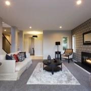 Kerehi show home by Landmark Homes - Kerehi ceiling, floor, home, interior design, living room, property, real estate, room, suite, wall, gray
