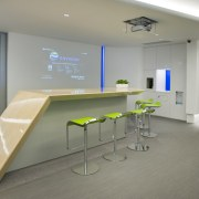 Envision office designed by M Moser Associates - floor, institution, interior design, office, product design, gray