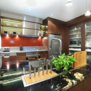 Kitchen designer Suyin says the extra-long Smeg Linea countertop, interior design, kitchen