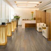 Versatile and hardwearing, Neo laminate flooring from GD ceiling, floor, flooring, furniture, hardwood, interior design, laminate flooring, lobby, wood, wood flooring, white, brown