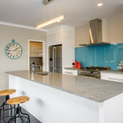 GJ Gardner Homes show home kitchen - GJ cabinetry, countertop, home, interior design, kitchen, real estate, room, gray