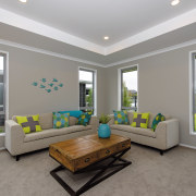 GJ Gardner Homes show home living - GJ estate, home, house, interior design, living room, real estate, room, window, gray