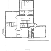 A floor plan of this new master suite angle, architecture, area, artwork, black and white, design, diagram, drawing, floor plan, font, line, line art, plan, product, product design, square, structure, technical drawing, text, white