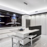 Now you see it, now you dont  interior design, kitchen, product design, white