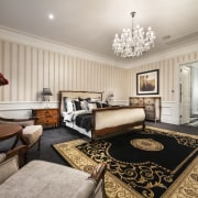 The colours in this master bedroom  black, ceiling, home, interior design, living room, real estate, room, suite, gray