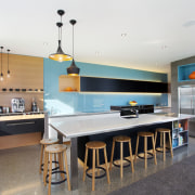 One corner of this NKBA NZ award-winning kitchen architecture, countertop, interior design, kitchen, real estate, room, white