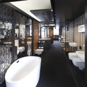 Cass Brothers, the specialist bathroom, kitchen and plumbing bathroom, interior design, black, white