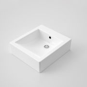 Caroma Liano above counter vanity basin eco-friendly  bathroom sink, plumbing fixture, product, product design, sink, tap, white