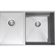 Clark Razor sink eco-friendly kitchen fixture - Clark angle, hardware, kitchen sink, plumbing fixture, product, product design, sink, tap, white