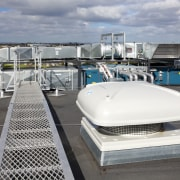 Roof ventilation from Aquaheat New Zealand forms part roof, gray