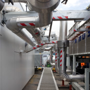 MIT Manukau Campus air conditioning solutions by Aquaheat factory, industry, machine, gray, black