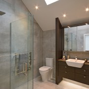 Bathrooms feature Cementia Grey 600mm x 600mm tiles bathroom, floor, home, interior design, real estate, room, tile, wall, gray, brown