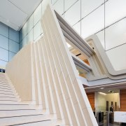 ANZ Tower at Liberty Place, Sydney was designed architecture, building, ceiling, daylighting, interior design, line, product design, stairs, structure, wood, white