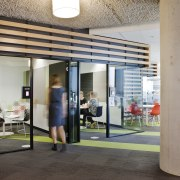 Meeting rooms at Aurecon House, Melbourne - Meeting interior design, gray