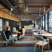 Breakout space, Aurecon House, Melbourne - Breakout space, institution, interior design, black