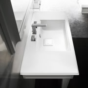Gessis Fascino solid brass faucets are available in angle, bathroom sink, coffee table, desk, furniture, plumbing fixture, product, product design, sink, table, tap, white, black