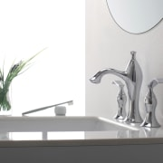 Exquisite Collection of faucets from Kraus introduces new bathroom sink, ceramic, furniture, interior design, plumbing fixture, product design, sink, table, tap, white, gray