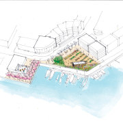 Urban renewal  Jasmax architect Gary Marshall puts area, diagram, line, plan, product design, urban design, white