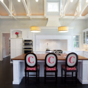 This kitchen is part of an extension to ceiling, countertop, cuisine classique, dining room, interior design, kitchen, real estate, room, gray