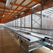 Dexion Industrial was contracted to design and supply architecture, daylighting, steel, structure, brown