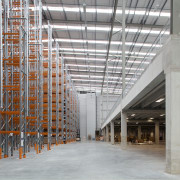 The JPL Distribution Centre was designed by Tse building, daylighting, steel, structure, warehouse, gray