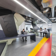 In the satellite Arup office in downtown LA architecture, interior design, product design, gray