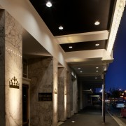 The Isaac Theatre Royal in Christchurch has undergone architecture, ceiling, daylighting, interior design, lighting, lobby, black