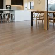 Prefinished, engineered real wood floors from Forte Flooring floor, flooring, furniture, hardwood, laminate flooring, table, tile, wood, wood flooring, wood stain, brown, gray