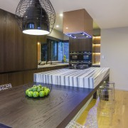 This new kitchen designed by Mal Corboy features architecture, countertop, house, interior design, kitchen, real estate, table, gray