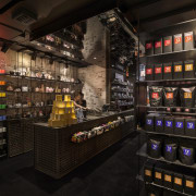 The new T2 store in Shoreditch London highlights liquor store, black